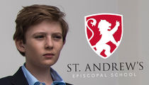 Barron Trump Will Get Sporty at St. Andrew's Episcopal School (PHOTOS)
