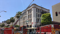 Lisa Vanderpump's Restaurant Evacuated During Fire (PHOTOS)