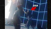 Shia LaBeouf Dances at Museum Like No One's Watching, But They Totally Are (VIDEO)