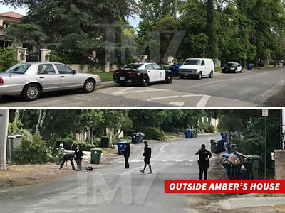 Amber Rose's House Broken Into, Suspect Hid There for Four Hours (PHOTO)