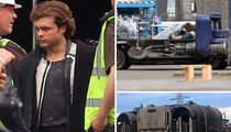 'Star Wars' Set Pics Reveal Alden Ehrenreich as a Young Han Solo (PHOTO GALLERY)