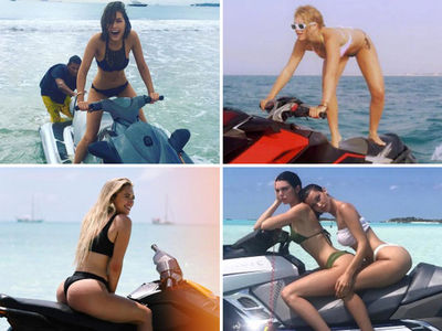 Hot Babes On Boatercycles -- Sea the Stars on Jet Skis (PHOTO GALLERY)