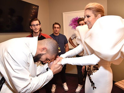 Celine Dion's Billboard Music Awards Dressing Room Was a Revolving Door of Celebs (PHOTO GALLERY)
