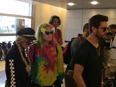 Scott Disick and Bella Thorne Jet Off to Cannes Together (VIDEO)