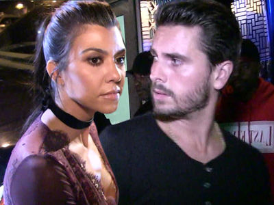 Kourtney Kardashian Says Scott Disick Can't See Kids Unless he Sobers Up