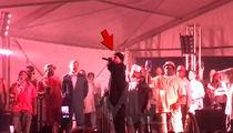 Three 6 Mafia's DJ Paul Threatens Drive-By Shootings at Memphis Concert (VIDEO)