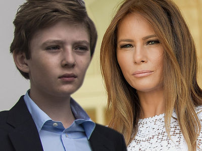 Barron Trump Thought Kathy Griffin's Beheaded Trump Image Was His Dad