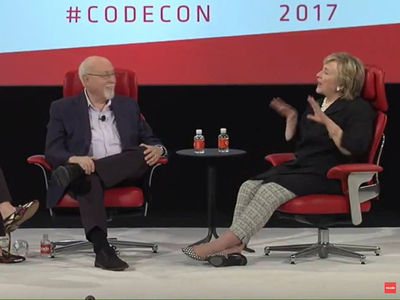 Hillary Clinton Jokes About Covfefe Being a Hidden Message to the Russians (VIDEO)