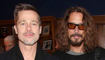 Brad Pitt Treats Chris Cornell's Kids To A Bit of Magic At Universal Studios (PHOTOS)