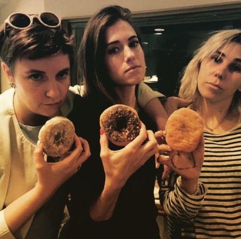 Lena Dunham, Allison Williams, and Zosia Mamet