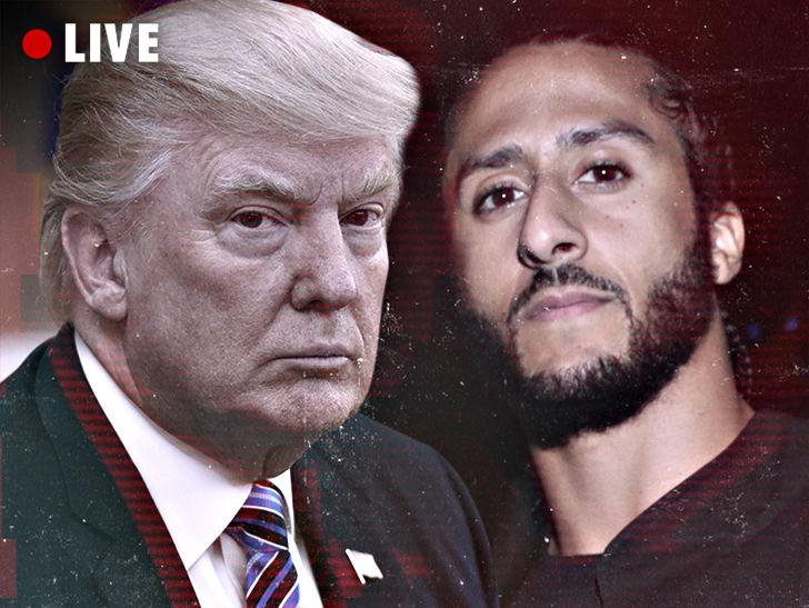 TMZ Live: Kaepernick & Trump White House Summit