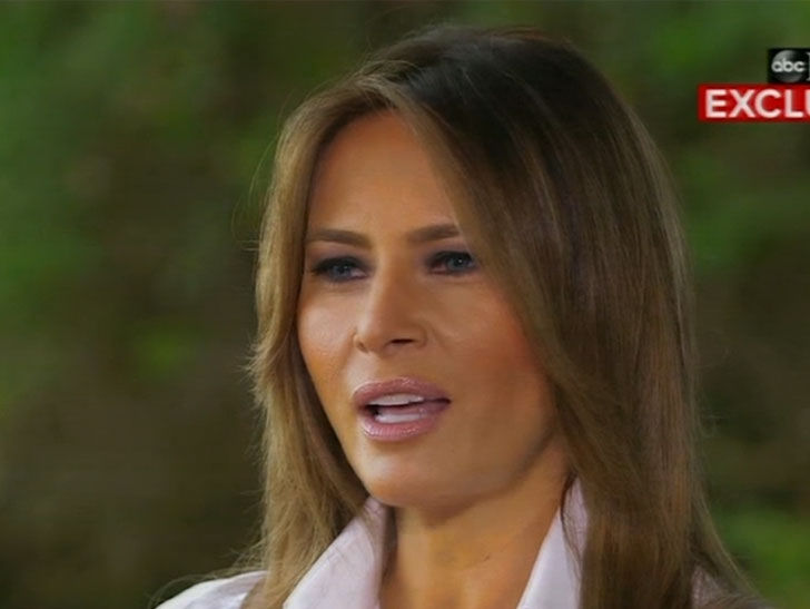 Melania Trump Says Rumors of Donald Trump Cheating Are Just Gossip