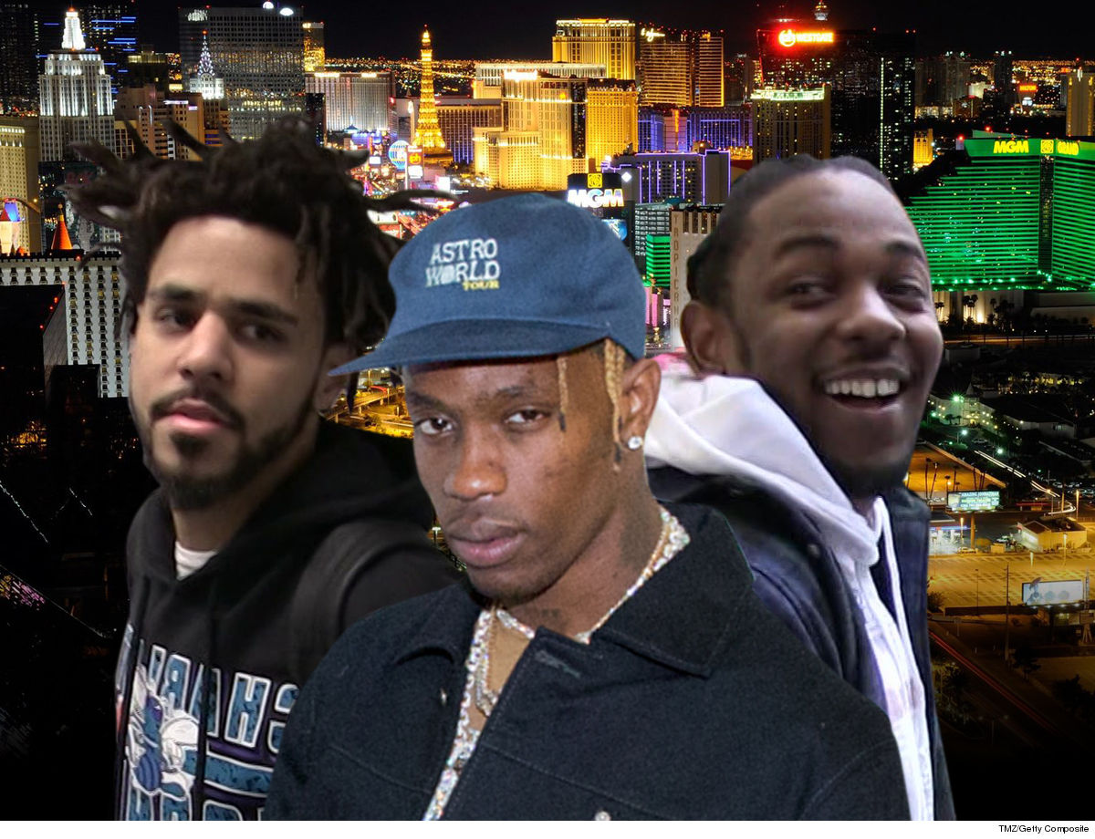 J. Cole, Travis Scott, Kendrick Lamar Headlining New Festival in Vegas