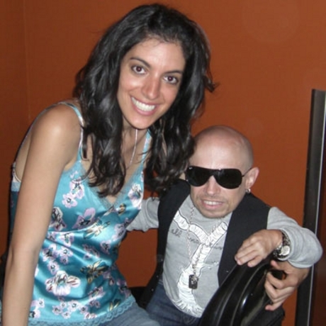The is the girl that was in Verne Troyer's sex tape.