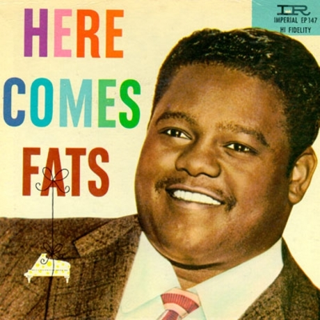 Fats Domino back in the day.