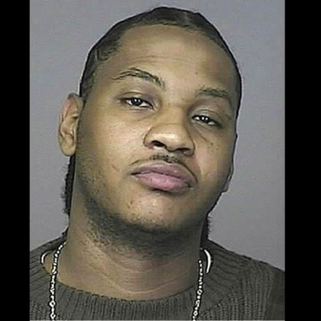 NBA star Carmelo Anthony was arrested on suspicion of DUI.