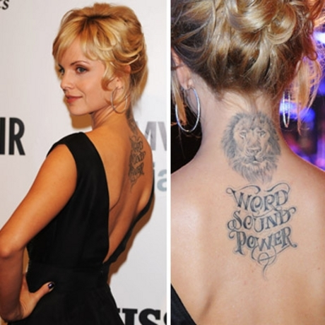 Celebs just love marking their bodies with ridiculous and permanent ink.