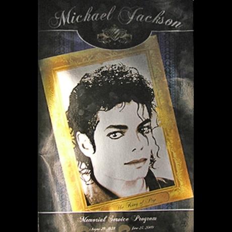 MJ Memorial Service Program