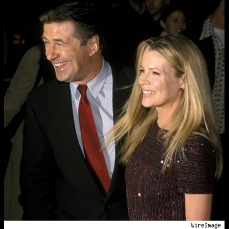 "Alec Baldwin and Kim Basinger at the New York premiere of ""I Dreamed of Africa"" on April 18, 2000."