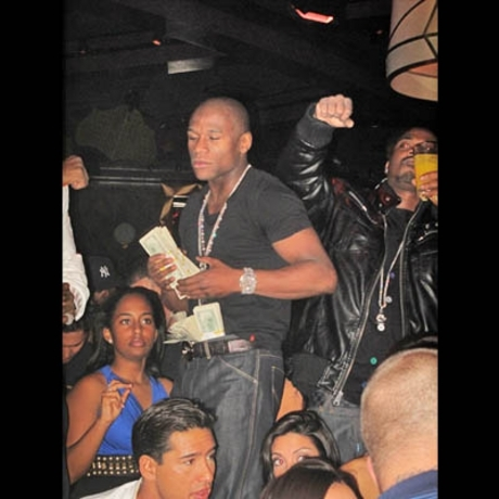 Mayweather and Diddy in Vegas