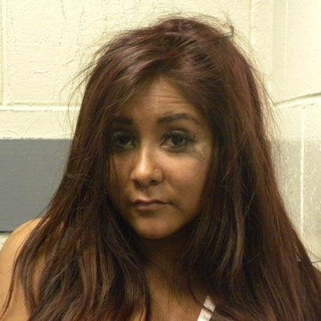 Seaside Heights PD arrested Snooki for disorderly conduct.