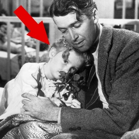 "Karolyn Grimes is famous for playing Jimmy Stewart's youngest daughter ZuZu Bailey in the 1946 Frank Capra classic ""It's a Wonderful Life."""