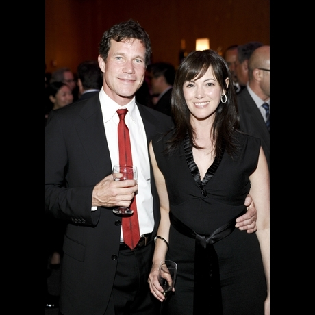 Dylan Walsh and Joanna Going