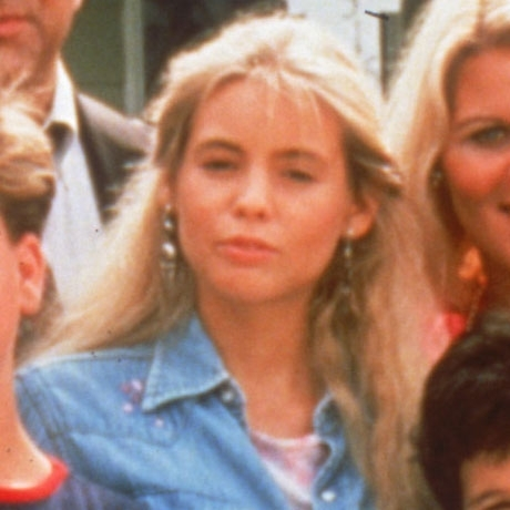 """Olivia d'Abo is best known for playing Fred Savage's older sister, Karen Arnold, on the '80s series """"The Wonder Years."""""""