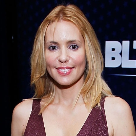 Olivia d'Abo was spotted on the red carpet looking wonderful.