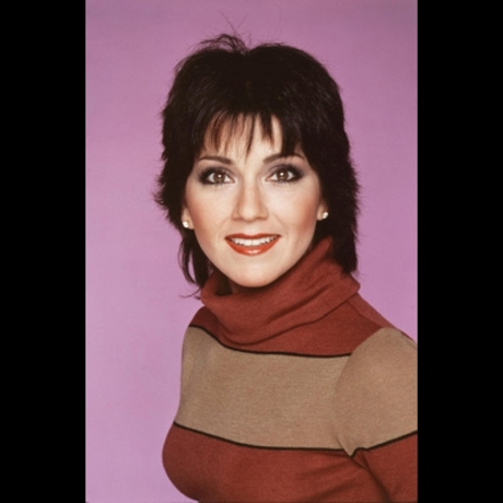 "In the '70s, Joyce DeWitt -- and her black liquid eyeliner -- became famous for playing florist Janet Wood on ""Three's Company."""