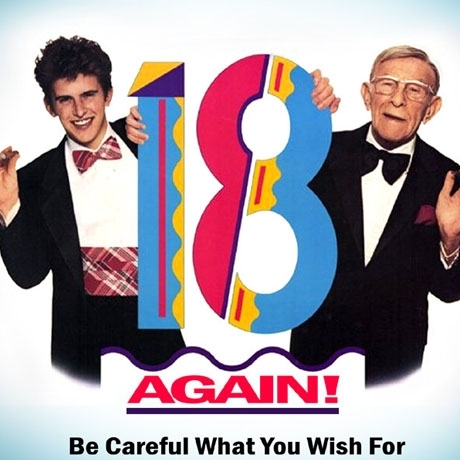 """Charlie Schlatter is best known for playing David Watson/Jack Watson opposite George Burns in the 1988 film """"18 Again!"""""""