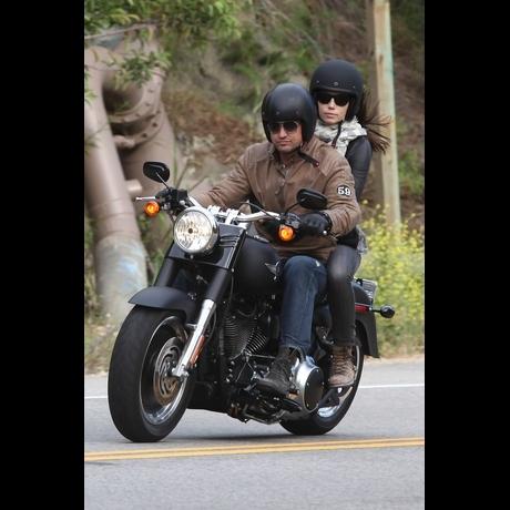 Gerard and Jessica -- Harley Riding