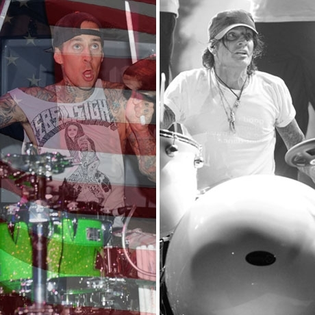 Travis Barker was born in the USA! Tommy Lee was born in Greece.