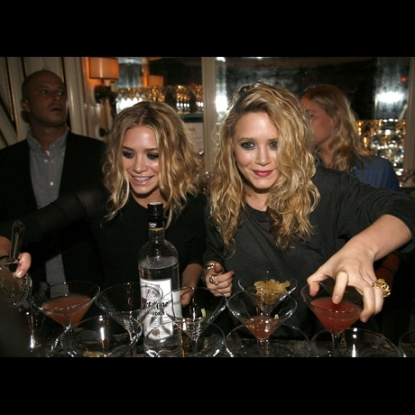 Celebrity Bartenders sponsored by TGIFridays