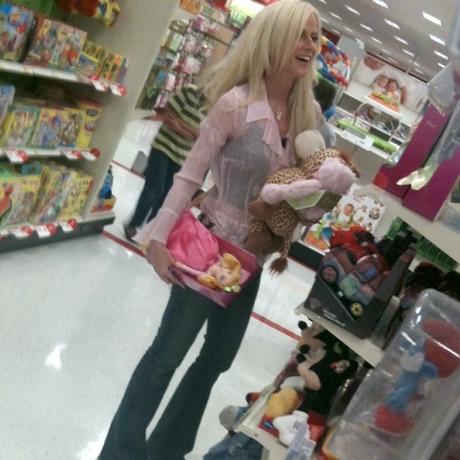 Michaele Salahi Baby Shopping