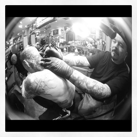 Travis Barker Head Tattoo Mr Cartoon Photo Gallery