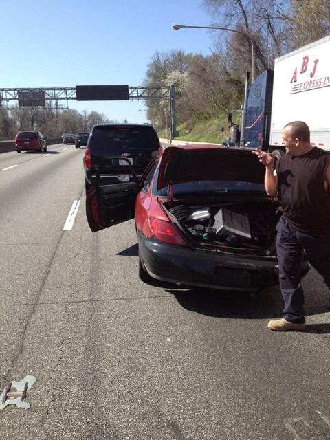 John Cena Crash Scene Photos