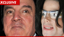 Michael Jackson's Former Manager -- The Estate is Screwing Me