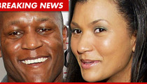 Barry Sanders Files For Divorce -- Leaves Marriage in the Dust