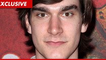Hugh Hefner's Son -- Charged with Beating Playmate GF Claire Sinclair