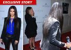 Kim Kardashian Flour-Bombed, Assaulted with White Powder