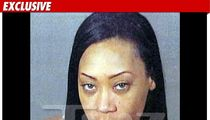 Ex-Destiny's Child Singer -- The Pissed Off Mug Shot