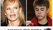 'CSI' Star -- Justin Bieber Was a Brat