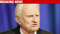 Evangelist Billy Graham -- Hospitalized with Pneumonia