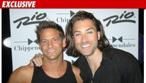 'American Idol' Alum -- Flirting with Chippendales