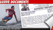 Andy Irons' Death -- Drugs Contributed