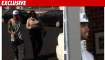 Chris Brown Dodges Parking Ticket -- Drops Gay Slur