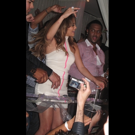 Jennifer Lopez at PURE in Las Vegas