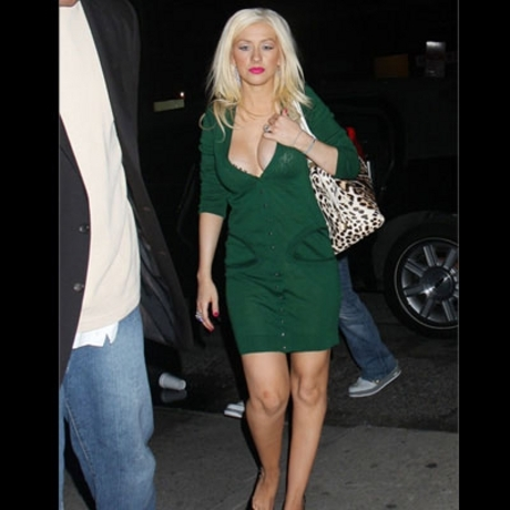 How much did People mag pay for the first pics of Christina Aguilera's girls?
