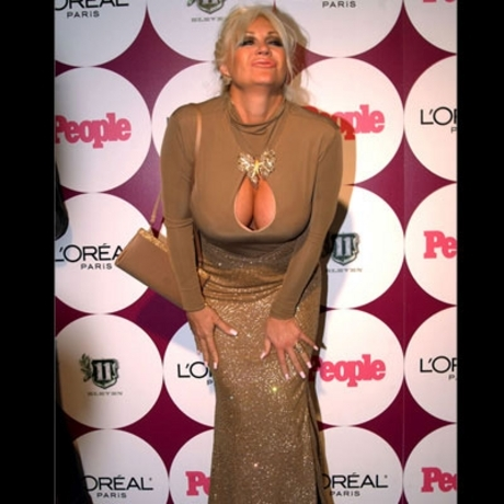 This is either Linda Hogan or a drag queen in Canton, Ohio.